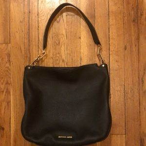 Michael Kors Fulton Hobo Black shoulder Bag